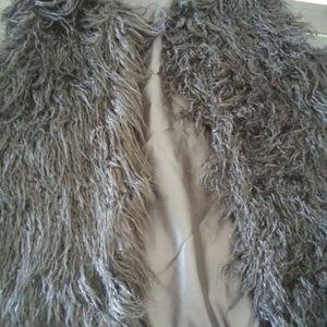 Jackets & Blazers - By: Cara New York M/L Black Women's Faux Fur Vest